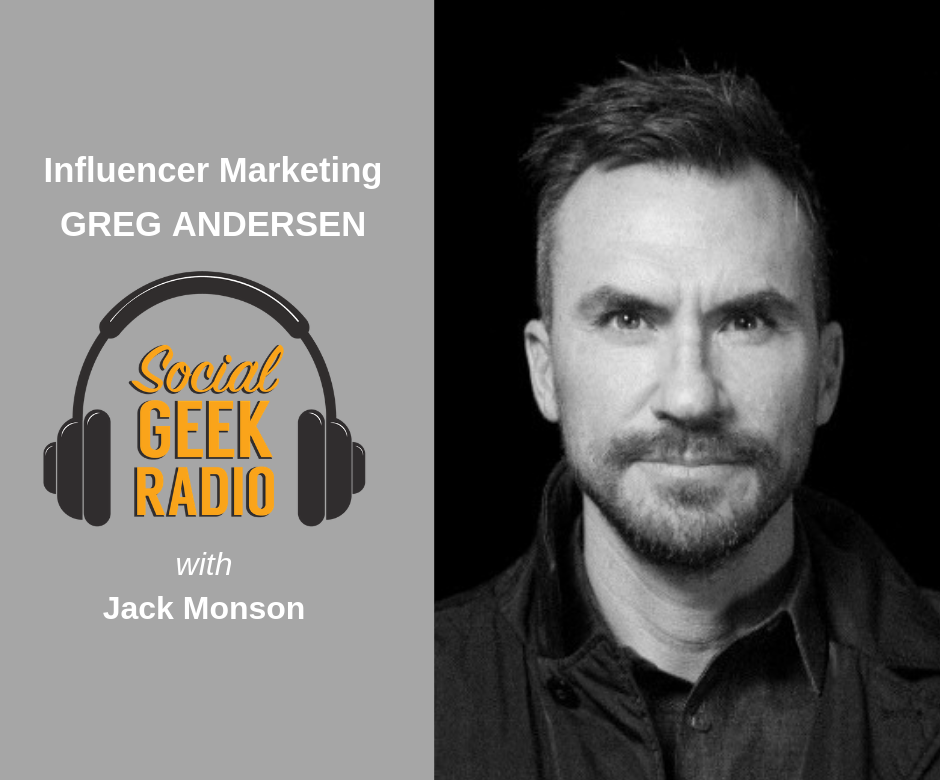 Influencer Marketing with Greg Andersen
