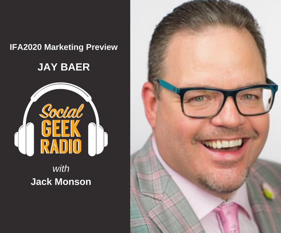 IFA2020 Marketing Presentation with Jay Baer