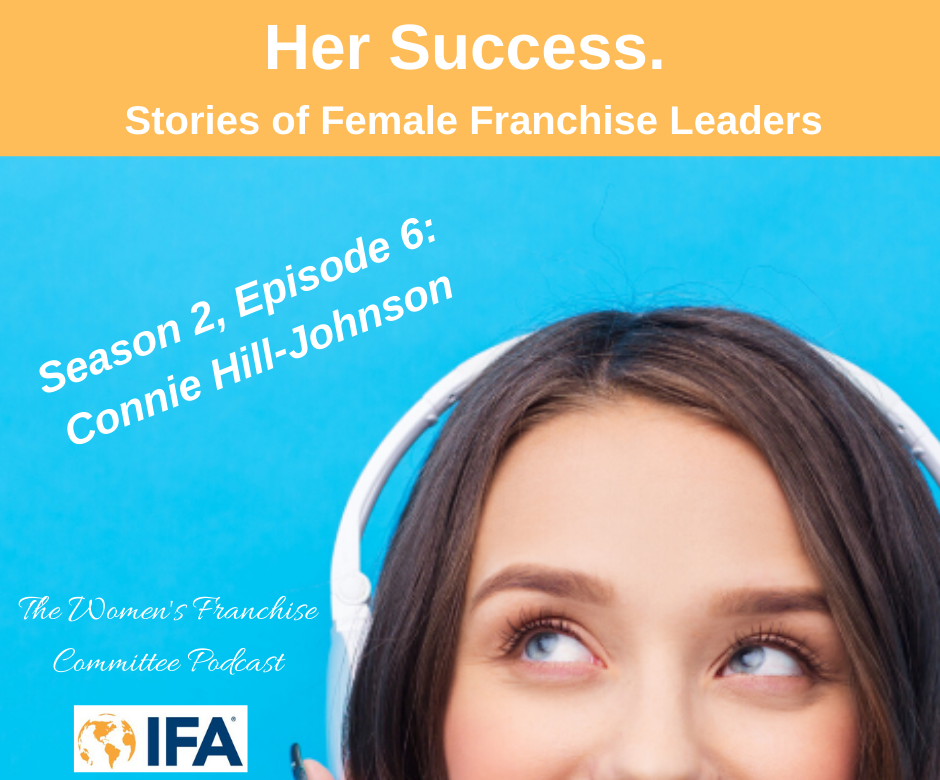 Women's Franchise Committee Podcast: Connie Hill-Johnson