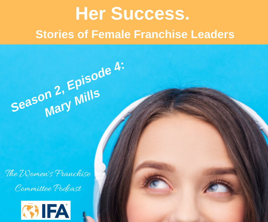 Women's Franchise Committee Podcast: Mary Mills