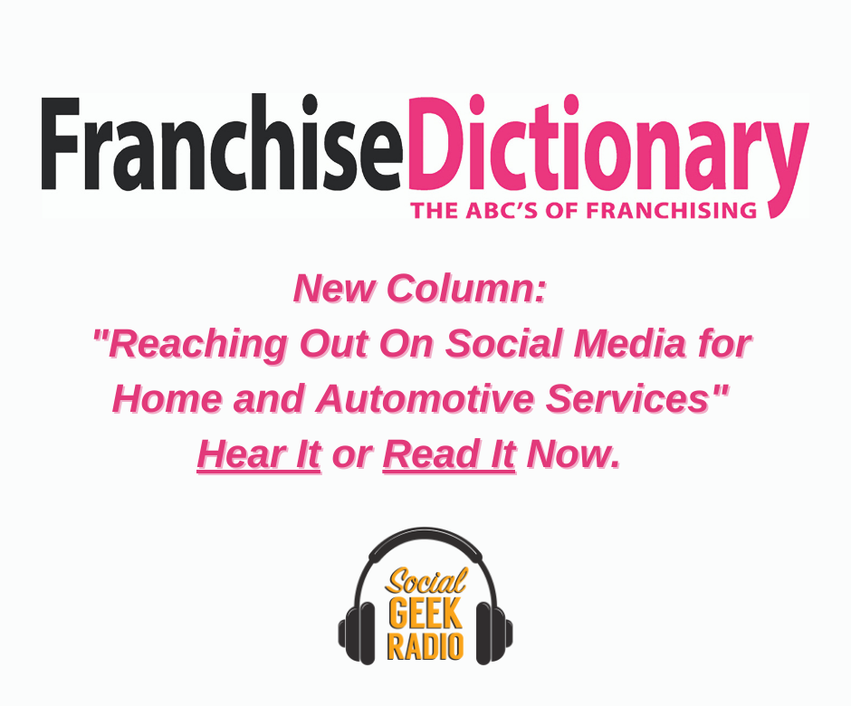 Franchise Dictionary Magazine: Reaching Out Through Social Media