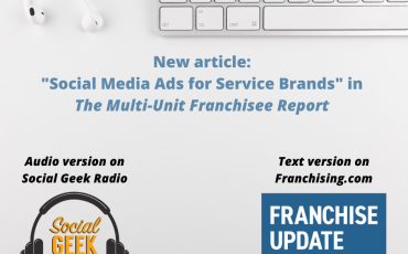 Social Media for Service Brands: Multi-Unit Franchisee Report